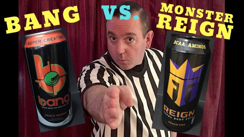 Monster Reign Energy Drink VS Bang Energy Drink; Monster Reign Product Review