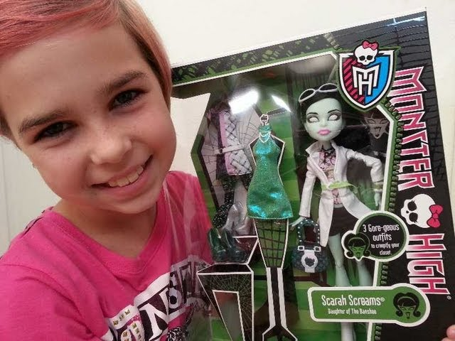 Monster High – Scarah Screams I Heart Fashion Review!