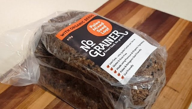 Product Review – No Grainer (Paleo / Keto / Low Carb Bread)