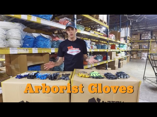 Arborist Gloves – Product Review TreeStuff.com