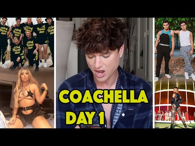 ROASTING YOUTUBERS *COACHELLA* DAY 1 OUTFITS! (Dolan Twins, David Dobrik, James Charles)