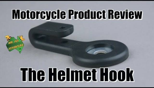 Motorcycle Product Review – Helmet Hook