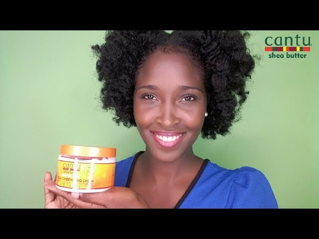CANTU LEAVE IN CONDITIONING CREAM FOR NATURAL HAIR || PRODUCT REVIEW