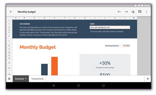 The Easy (and Free) Way to Make a Budget Spreadsheet