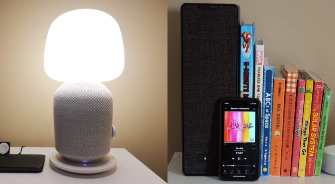 Review: IKEA SYMFONISK table lamp and bookshelf Wi-Fi speakers aren't just for Sonos fans