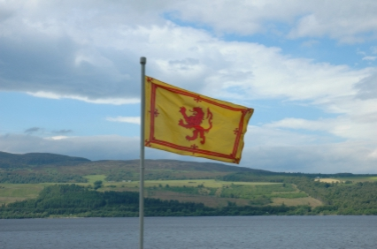 Lion Rampant Flying