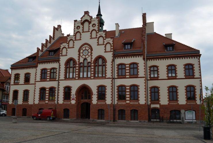 Renowacja zabytkowego Ratusza Miejskiego w Piszu