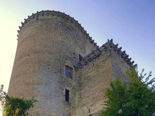 The tower of the Oramala Castle