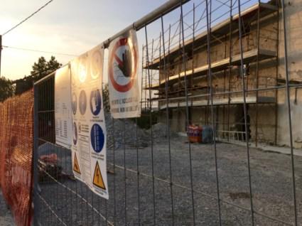 The Oltrella construction site