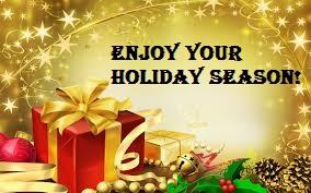Enjoy your holiday season