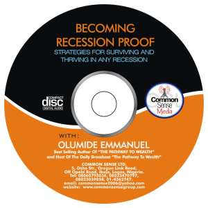 Becoming Recession Proof