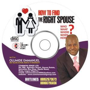How To Find The Right Spouse