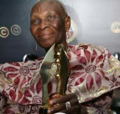 Legendary Actress Bukky Ajayi Buried Today According To Muslim Rites.