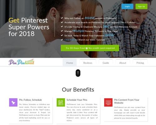 Pinterest Automation Marketing Tool, Schedule Pins, Auto Unfollow, Pinterest Marketing