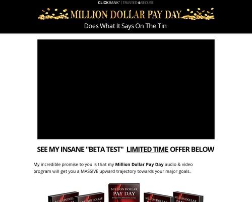 Million Dollar Pay Day CB | Mind Power Riches