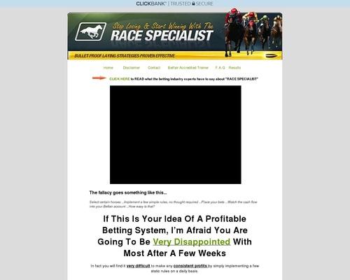 Race Specialist::