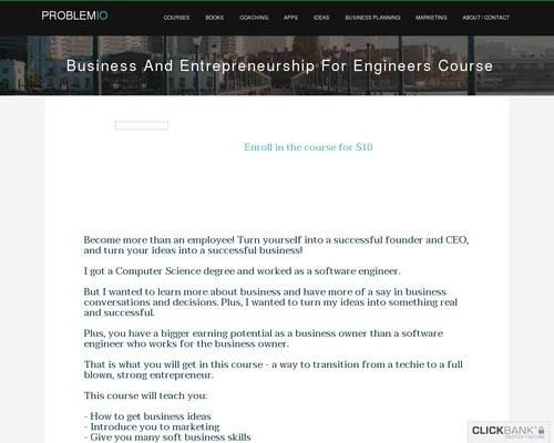 Business And Entrepreneurship Course