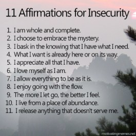 insecurity-affirmations