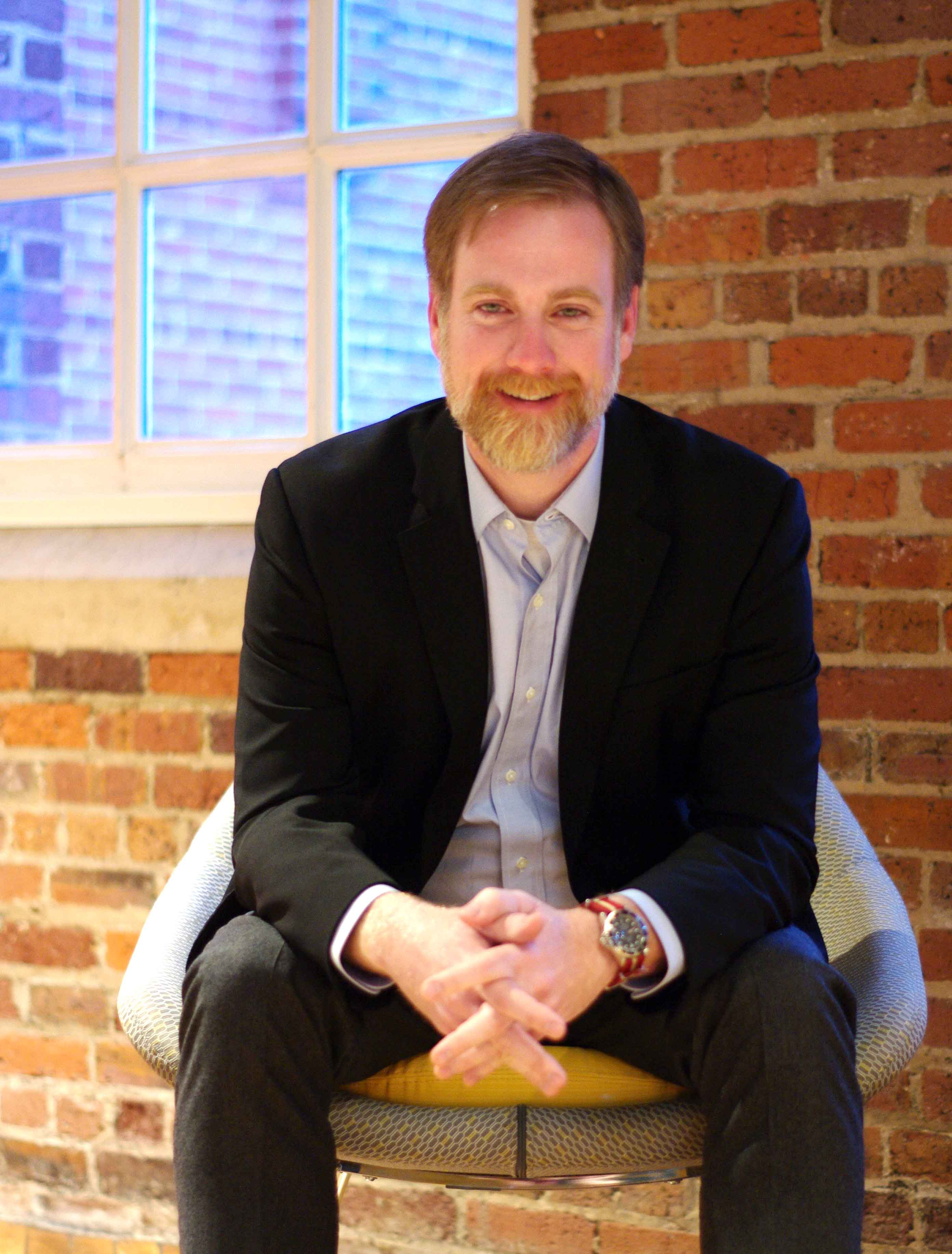 Meet the Director of Duke New Ventures, Rob Hallford. Photo by Celeste Ferguson/OLV.