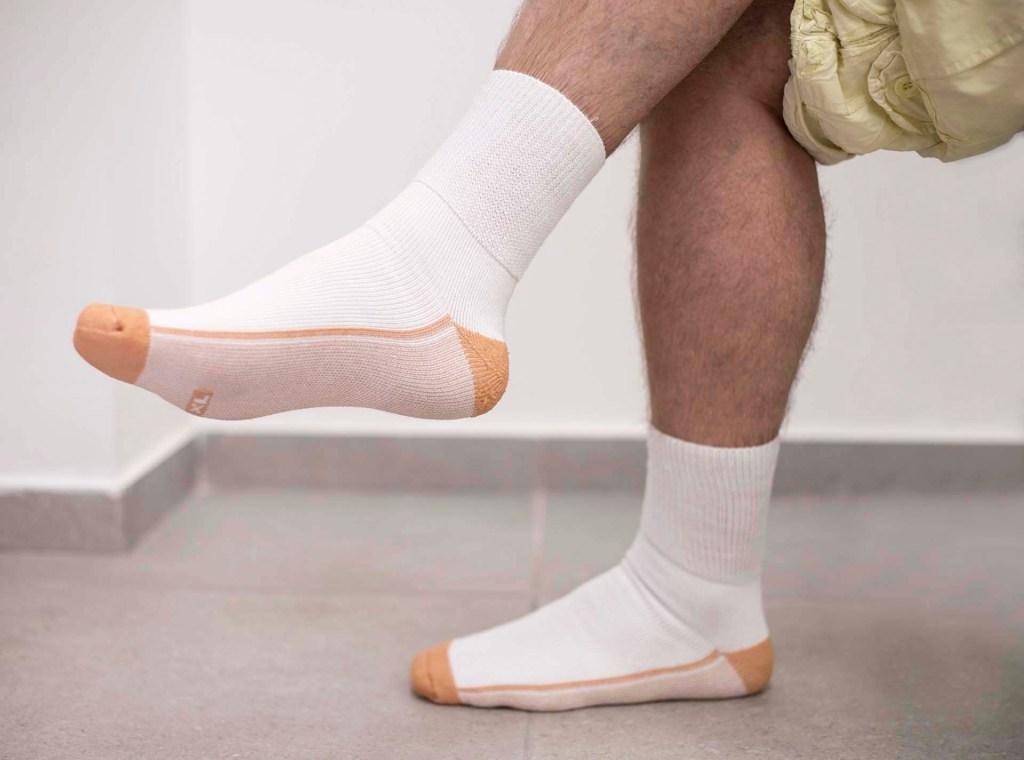 Socks for sensitive foot