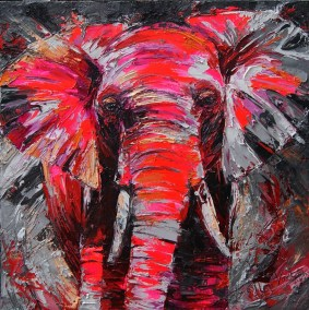 Impressive elephant 100x100