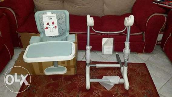 gym chair olx jolly covers for sale brand new bebe confort keyo stand with feeding hadayek al kobba image