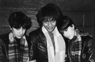Vivien Greene, Toni Young and Giovanna Righini, 1981