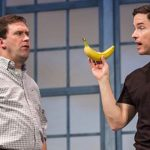 Jason Haws and David S. Hogan in The Understudy at Harlequin Productions