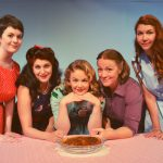Dana Winter, Heather Christopher, Meghan Goodman, Samantha Chandler and Katelyn Hoffman in 5 Lesbians Eating a Quiche