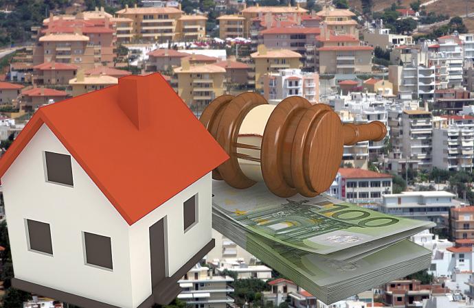Ξεκινούν πλειστηριασμοί σε 2.000 κατοικίες άνω των 400.000 που οι κάτοχοι τους έχουν καταθέσεις στις Τραπεζες