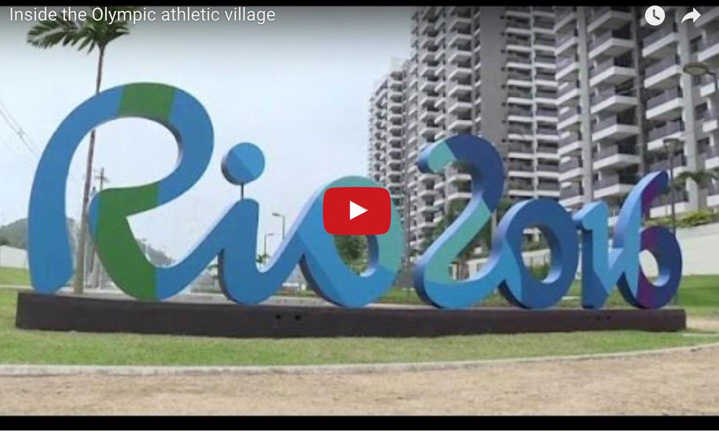 Δείτε το Ολυμπιακό χωριό του ΡΙΟ #Rio2916 #RoadToRio #Olympics Olympic Village