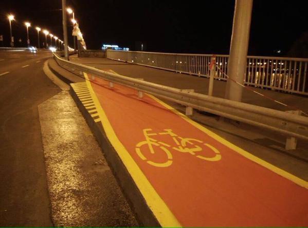 ΑΠΙΣΤΕΥΤΗ Φωτογραφία Ο ποδηλατόδρομος του τρόμου
