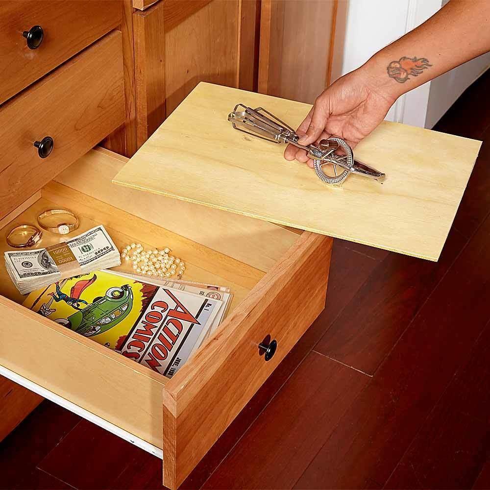 25 πονηρά κρυφά μέρη για να κρύψετε τα πολύτιμα αντικείμενά σας