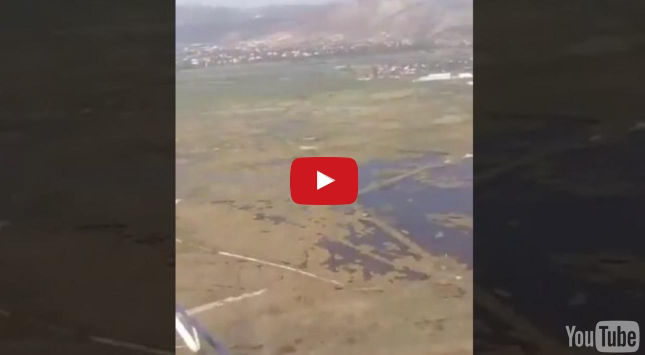 Η πτώση του ελικοπτέρου στον Σχοινιά μεταδιδόταν live στο Facebook Βίντεο-σοκ
