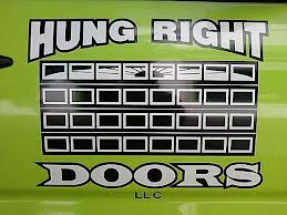 Hung Right Doors Logo