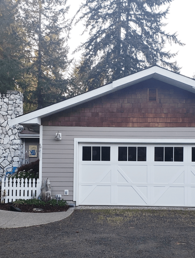 Carriage Style Garage Door Installed by Hung Right Doors