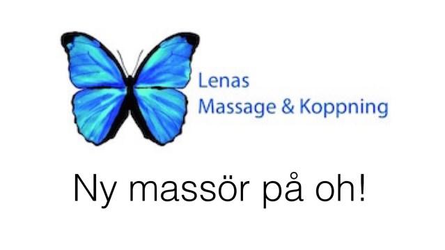 Vi välkomnar varmt Lena Bengtsson – ny massör på Olympiahallen!
