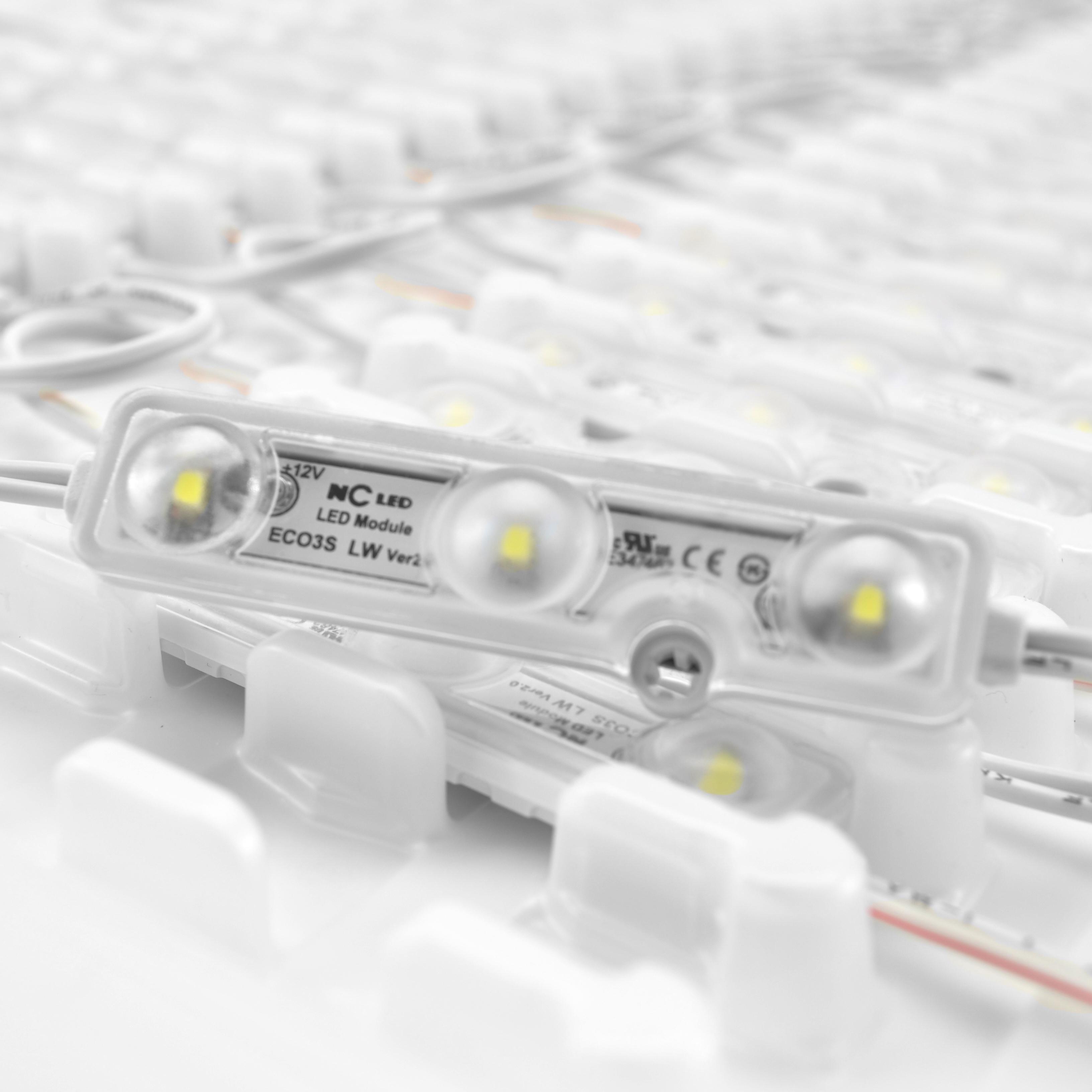 NcLED ECO3SLW2NS LED Module White 072W 10000K 100 Pack