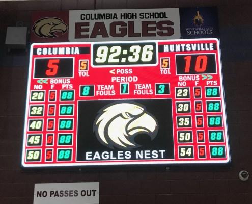 Columbia High School P3.91 512x768 Pixels