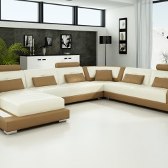 Brown And Beige Sofa Comfort Set Light Colored Leather Sofas Town Country Vt