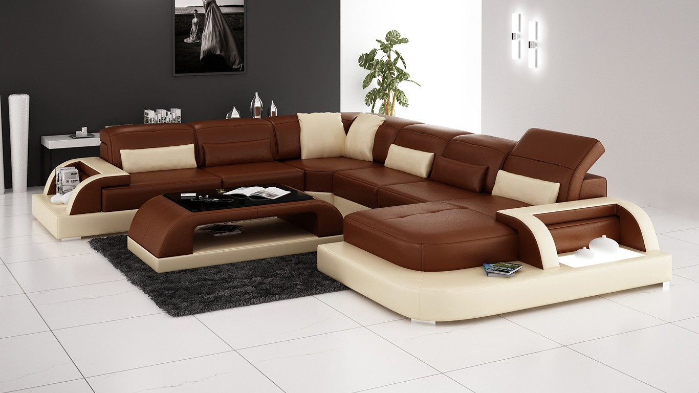 leather vs fabric sofa india valencia black recliner olympian sofas valentino brown sectional