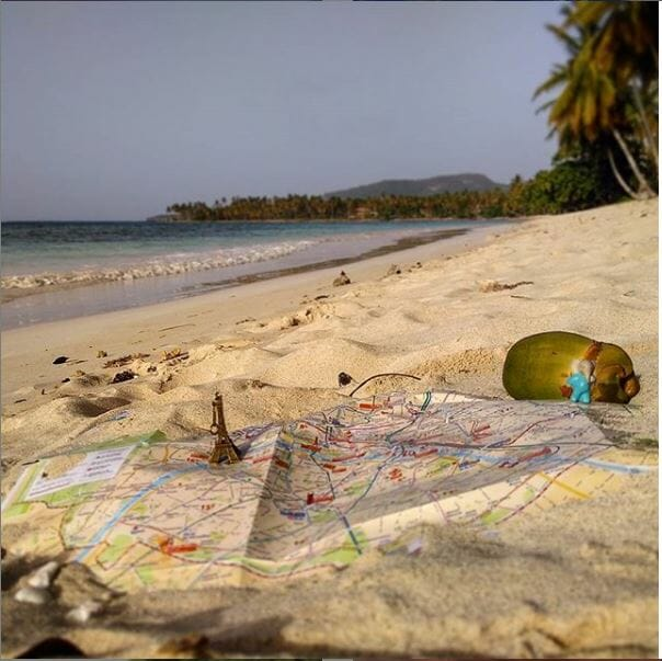 blog plage carte voyage tour du monde