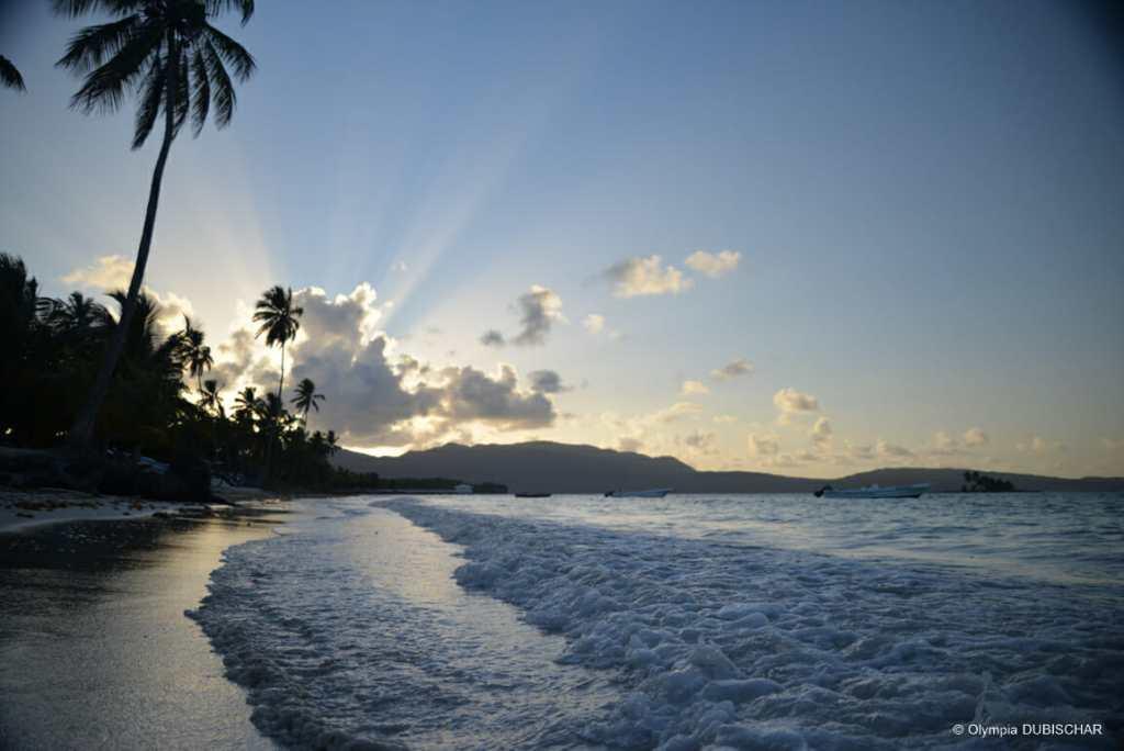 Las Galeras Samana République Dominicaine plage noël