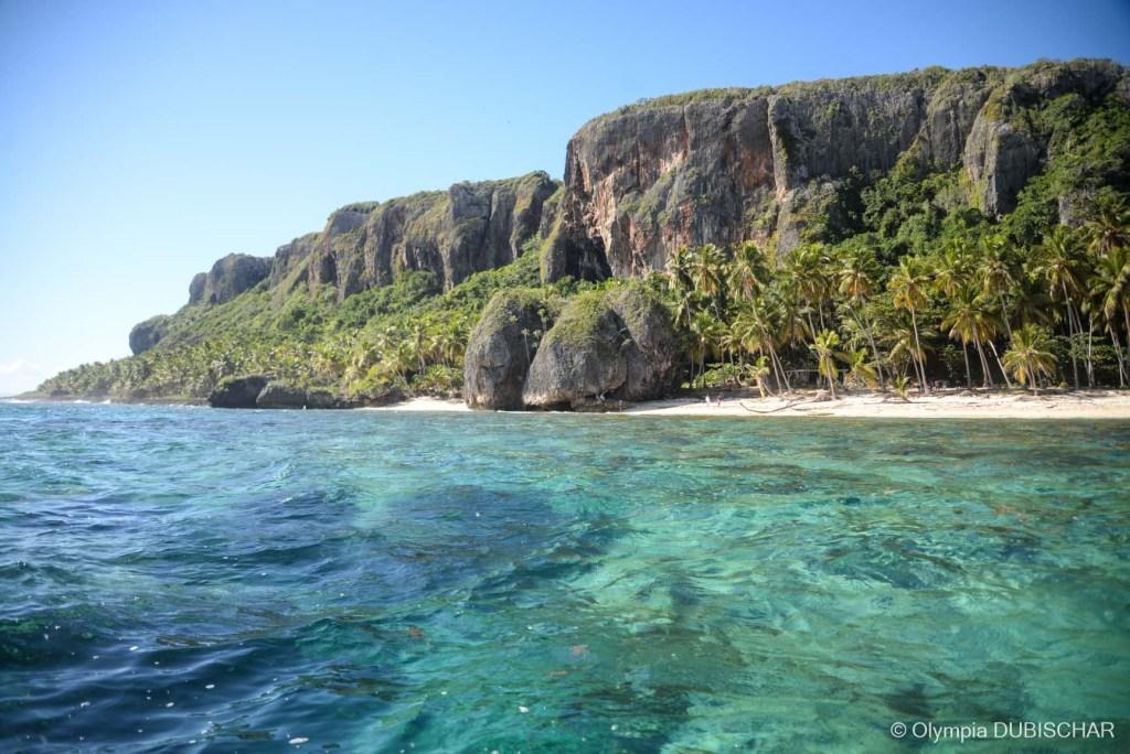 plage fronton las galeras samana dominicaine rêve paradis
