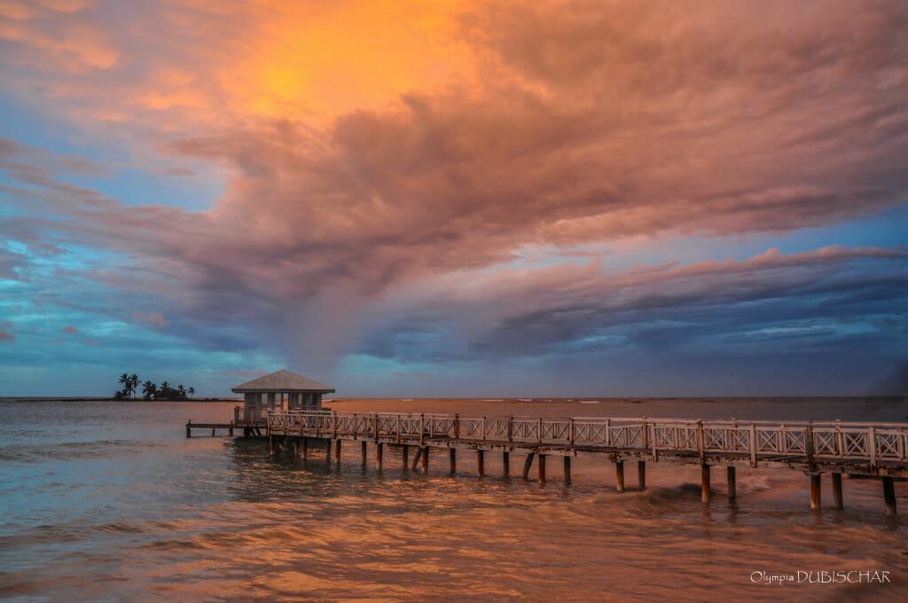coucher de soleil las galeras dominicaine météo temps