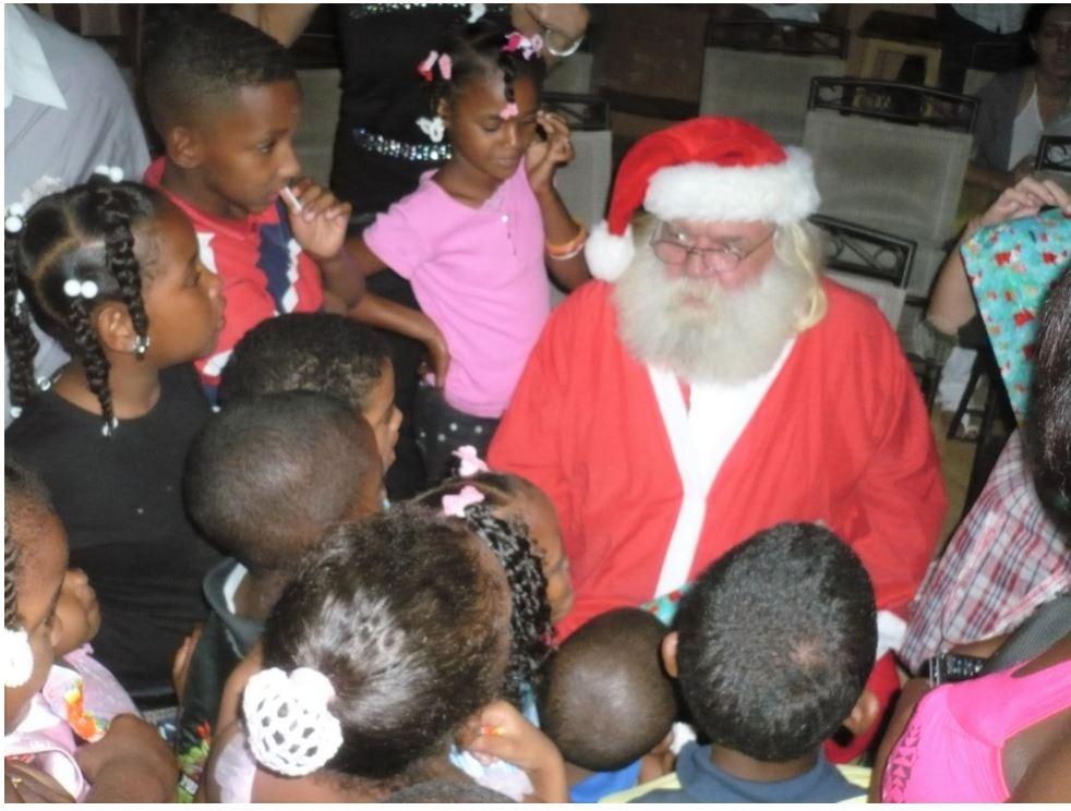 Paul Hanes, Père Noël Santa Klaus de Las Galeras