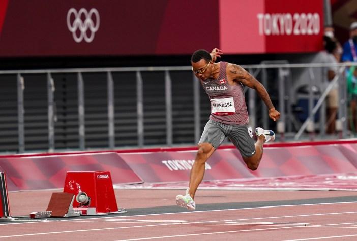 Andre De Grasse Sprossen 100m Finale