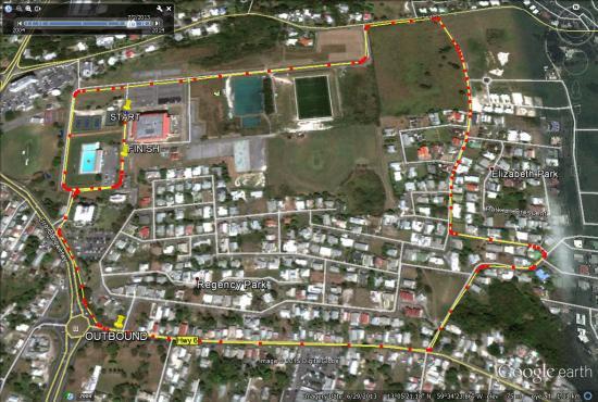 BOA-5K Walk/Run-Map-Route-IWD 2015