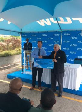 Flow sponsors BOA 100 000 per year for 5 year partnership commitment