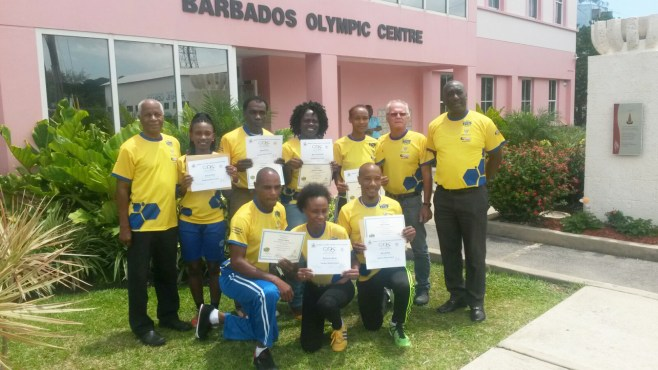 "The World Road Tennis Association completed a ""Train the Trainer"" program in Barbados to assist in growing the sport throughout the Caribbean"